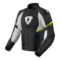 Rev'it Arc H2o Jacket Black Yellow