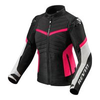 Rev'it Arc H2o Ladies Jacket Black Pink