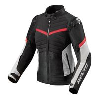 Rev'it Arc H2o Ladies Jacket Black Red