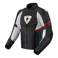 Rev'it Arc H2o Jacket Black Red