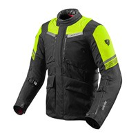 Rev'it Neptune 2 Gtx Jacket Black Fluo Yellow