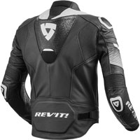 Rev'it Leather Jacket Spitfire Black-white