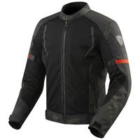 Rev'it Torque Jacket Black Green