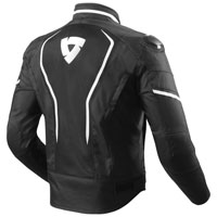 Rev'it Vertex Air Jacket Black White