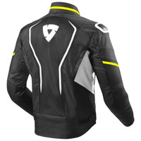 Rev'it Vertex Air Nero Giallo Fluo