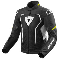 Rev'it Vertex Air Jacket Black Fluo Yellow