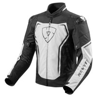 Rev'it Vertex Jacket White Black