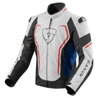 Rev\'it Vertex Jacket White Blue