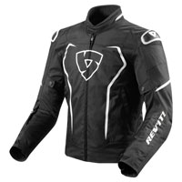 Rev'it Vertex Jacket Black White