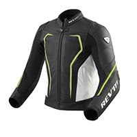Rev'it Vertex Gt Jacket Black Neon Yellow