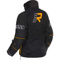 Rukka Orbita Gore-tex Ladies Black Orange Jacket