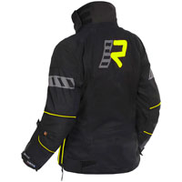 Rukka Orbita Kit Gore-tex Ladies Black Yellow Jacket