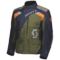 Scott Dualraid Dryo Jacket Blue Moss Green