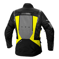 Blouson Spidi 4 Season Evo H2out Jaune Fluo