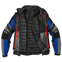 Spidi 4 Season Evo H2out Jacket Black Blue