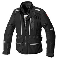 Chaqueta Spidi All Road H2Out negro
