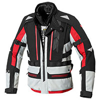 Chaqueta Spidi All Road H2Out ice rojo