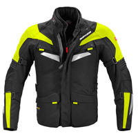 Spidi Alpentrophy Jacket Black Yellow Fluo