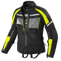 Spidi Armakore H2out Jacket Black Fluo Yellow