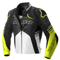 Spidi Bolide Leather Jacket Yellow