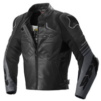 Spidi Bolide Leather Jacket Black