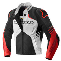 Spidi Bolide Leather Jacket Red
