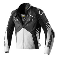 Spidi Bolide Perforated Leather Jacket White