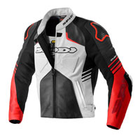 Spidi Bolide Perforated Leather Jacket Red