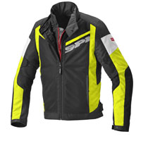 Chaqueta Spidi Breezy Net H2out amarillo