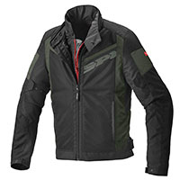 Spidi Breezy Net H2out Jacket Dark Green Black