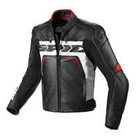 Spidi Carbo Rider Ce Black White Red