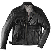 Spidi Clubber Leather Jacket Extreme Black