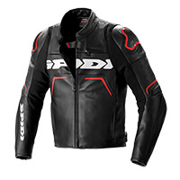 Spidi Evorider 2 Leather Jacket Red