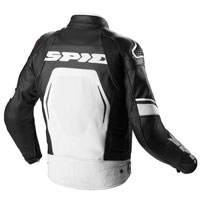 Spidi Evorider Wind Jacket Black White - 2
