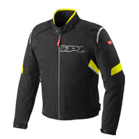 Spidi Flash H2out Jacket Black-fluo Yellow
