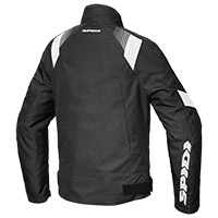 Spidi Flash Evo H2out Jacket Black White
