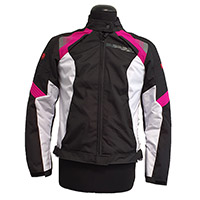 Spidi Flash Evo Lady Jacket Black Fuchsia