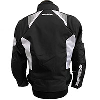 Spidi Flash Evo Jacket Black White