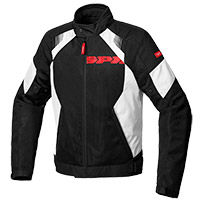 Spidi Flash Evo Net Windout Jacket Black White