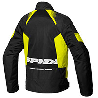 Chaqueta Spidi Flash Evo Net WindOut negro amarillo