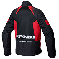 Chaqueta Spidi Flash Evo Net WindOut negro rojo