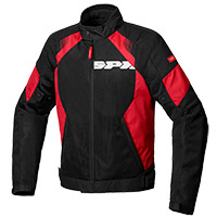 Spidi Flash Evo Net Windout Jacket Black Red