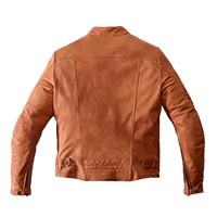 Spidi Garage Leather Jacket Beige