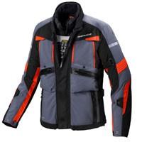 Spidi Globetracker Jacket Black Fluor Orange