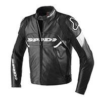 Spidi Ignite Leather Jacket Black White
