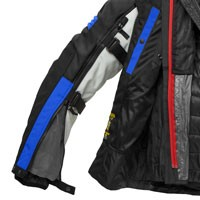 Spidi Jacke Modular H2Out Grau Blau - 4
