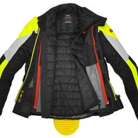 Spidi Multiwinter H2out Jacket Black Grey Yellow - 3