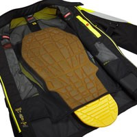 Spidi Multiwinter H2out Jacket Black Grey Yellow - 4