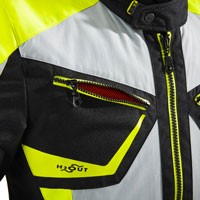 Spidi Multiwinter H2out Jacket Black Grey Yellow - 5