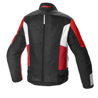 Spidi Solar Net Sport Perforated Jacket Red